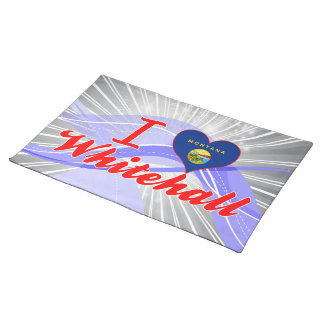 I Love Whitehall, Montana Place Mat
