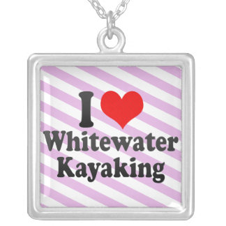 I love Whitewater Kayaking Pendants