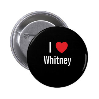 I love Whitney Button