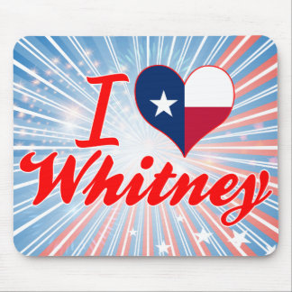 I Love Whitney, Texas Mouse Pad