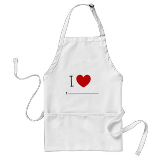 I love whoever adult apron