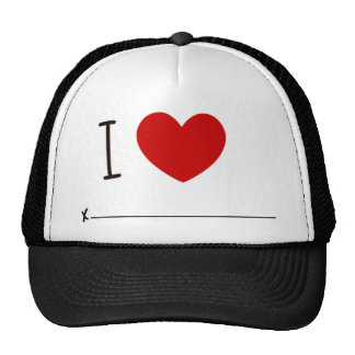 I love whoever mesh hats