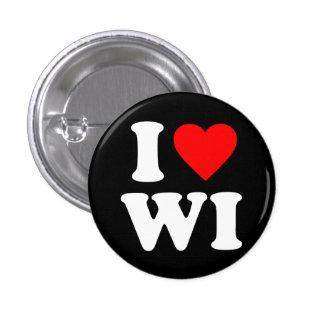 I LOVE WI PINS