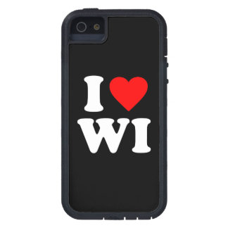 I LOVE WI CASE FOR iPhone SE/5/5s