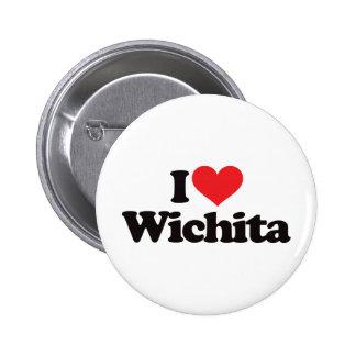 I Love Wichita Pin
