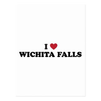 I Love Wichita Falls Texas Postcard