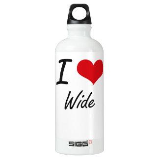 I love Wide SIGG Traveler 0.6L Water Bottle