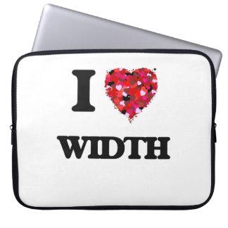I love Width Laptop Computer Sleeves