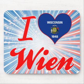 I Love Wien, Wisconsin Mouse Pad