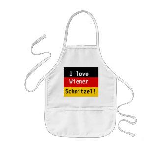 I love Wiener Schnitzel Aprons