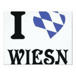 I love wiesn icon personalized invite