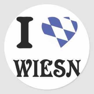 I love wiesn icon stickers