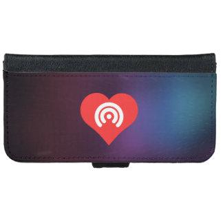I Love Wifi Access Design iPhone 6 Wallet Case