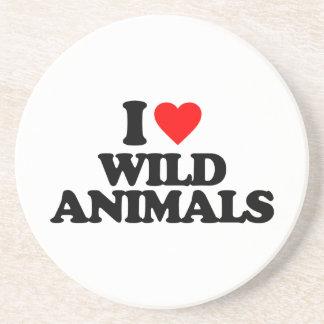 I LOVE WILD ANIMALS COASTER