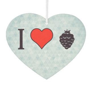 I Love Wild Berries Air Freshener