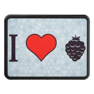 I Love Wild Berries Tow Hitch Cover
