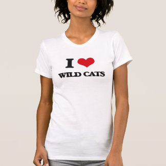 I love Wild Cats T-shirt