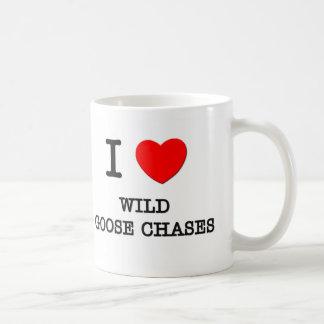 I Love Wild Goose Chases Coffee Mug