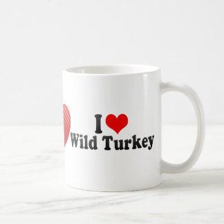 I Love Wild Turkey Mug