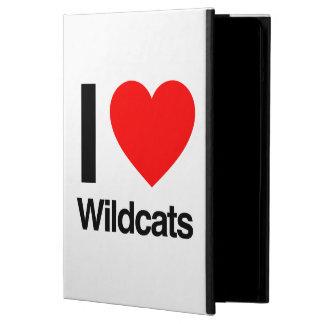 i love wildcats iPad air cases