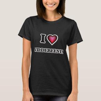 I Love Wildebeests T-Shirt