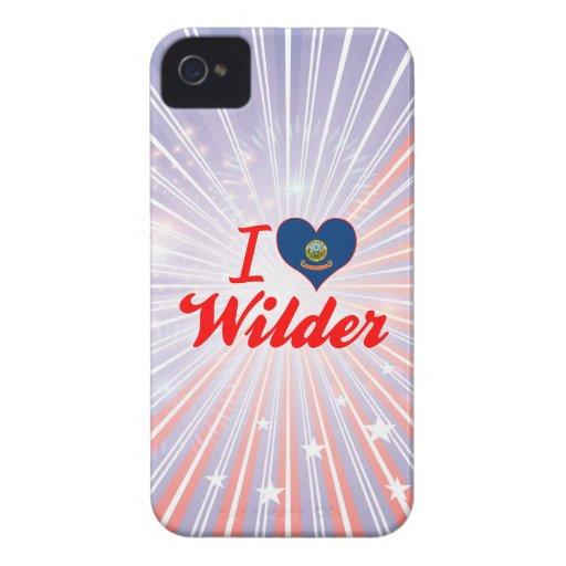 I Love Wilder, Idaho iPhone 4 Case-Mate Case