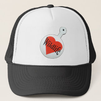 I Love wildlife Cap, Many Colors To Choose Trucker Hat