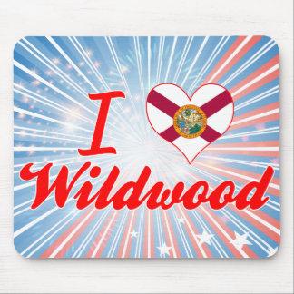 I Love Wildwood, Florida Mouse Pads