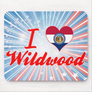 I Love Wildwood, Missouri Mouse Pad