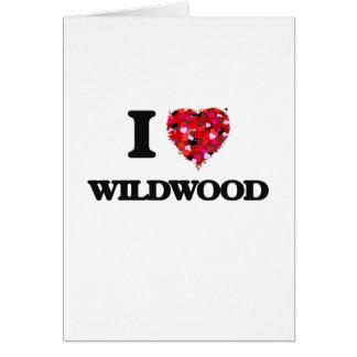 I love Wildwood New Jersey Greeting Card