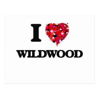 I love Wildwood New Jersey Postcard