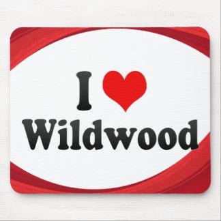 I Love Wildwood, United States Mousepad
