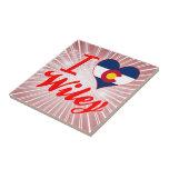 I Love Wiley, Colorado Tiles