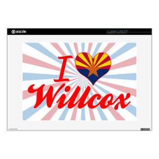 "I Love Willcox, Arizona Decals For 15"" Laptops"
