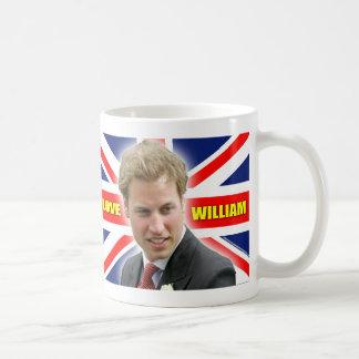 I Love William Coffee Mug