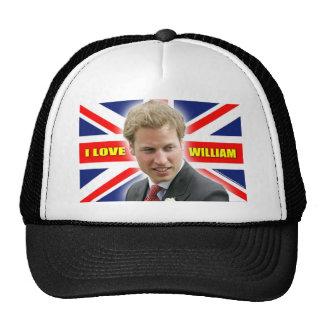 I Love William Hat