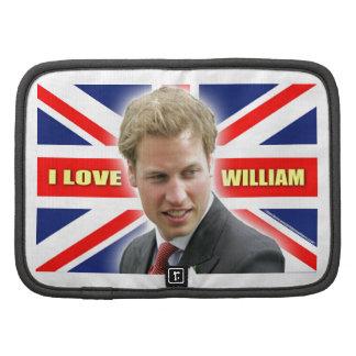 I Love William Organizers