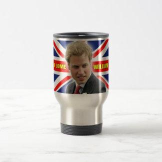 I Love William Travel Mug