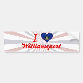 I Love Williamsport Pennsylvania Bumper Sticker