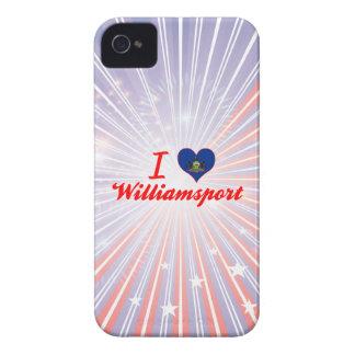 I Love Williamsport, Pennsylvania iPhone 4 Case-Mate Case