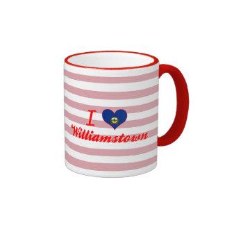 I Love Williamstown, Vermont Mug
