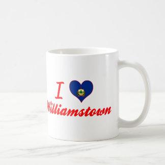 I Love Williamstown, Vermont Coffee Mug