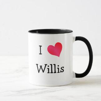 I Love Willis Mug