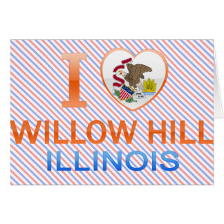 I Love Willow Hill, IL Greeting Card