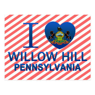 I Love Willow Hill, PA Post Cards