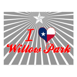 I Love Willow Park, Texas Postcards