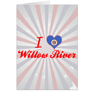 I Love Willow River, Minnesota Card