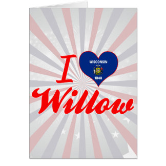 I Love Willow, Wisconsin Cards