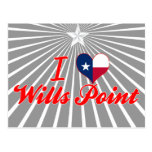 I Love Wills Point, Texas Post Card