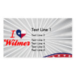 I Love Wilmer, Texas Business Card Templates